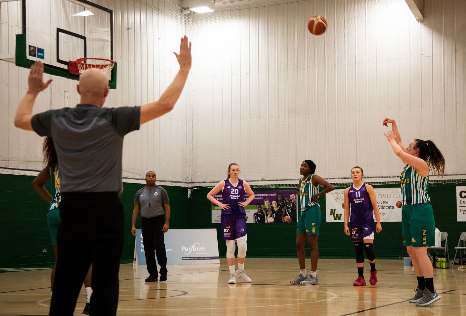 Nottingham Wildcats vs Caledonia Pride Sunday 20 January 2019