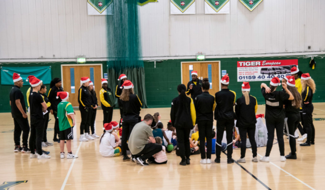 Nottingham Wildcats Christmas Jumper Day Sunday 23 December 2019