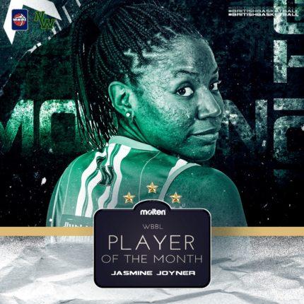 Jasmine Joyner Player of the month