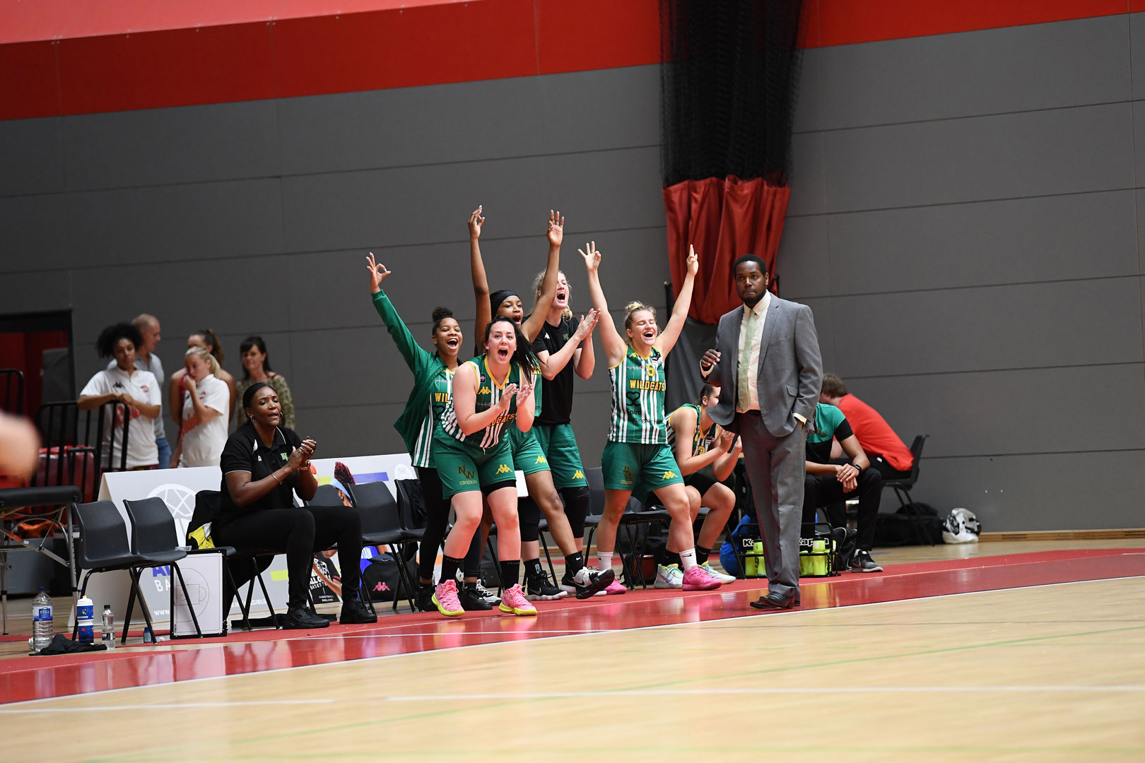 Game photos from Nottingham Wildcats vs Manchester Mystics in the Betty Codona Trophy 28/09/2019