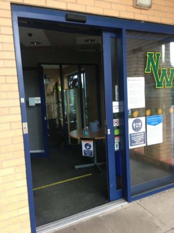 NW Arena Entrance